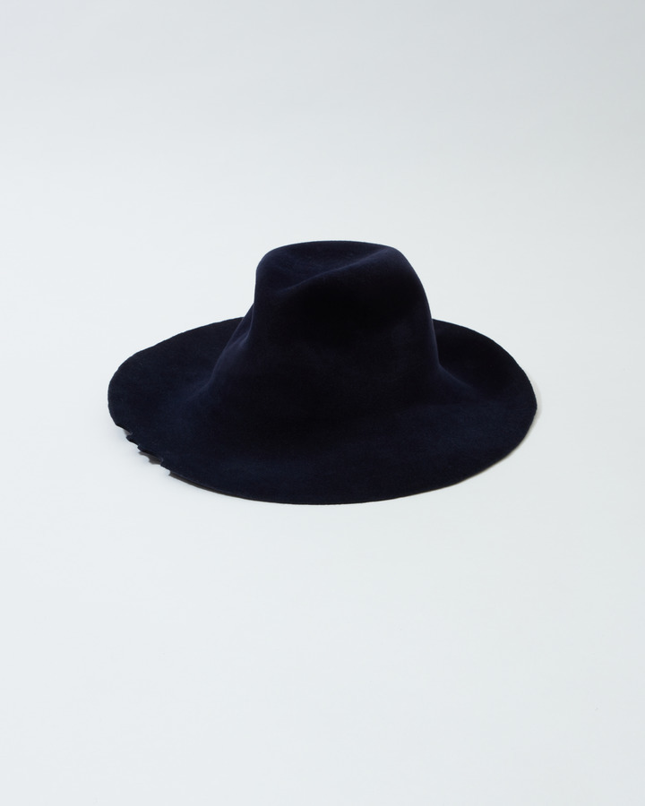 WIDE BRIM HAT 詳細画像 NAVY 1