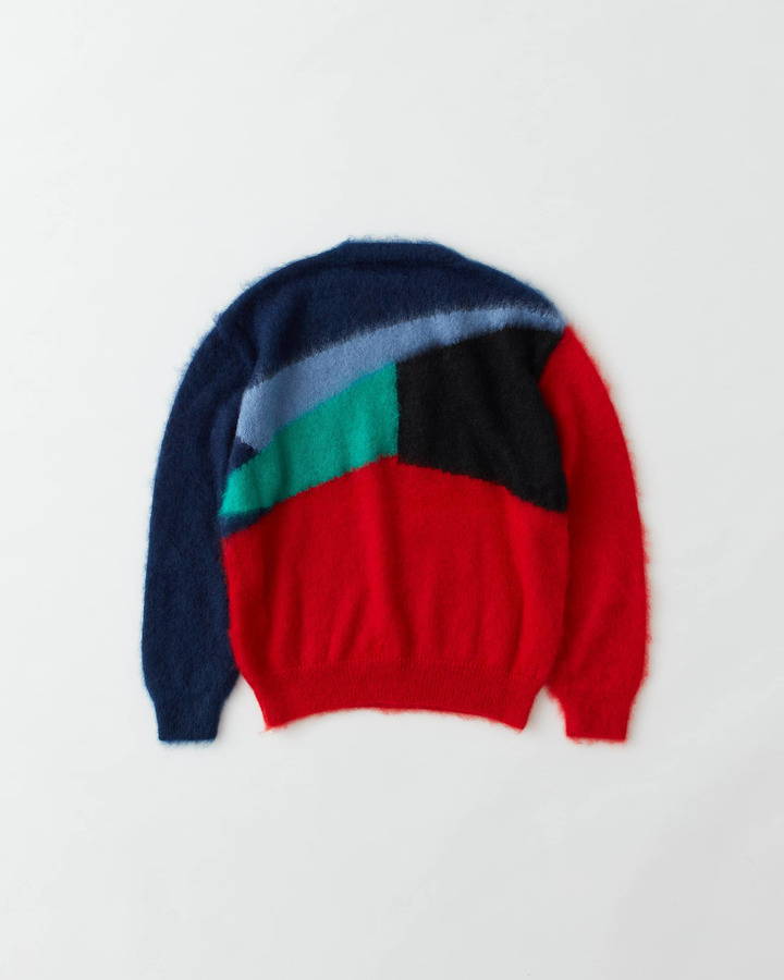 MOHAIR SWEATER 詳細画像 RED 2