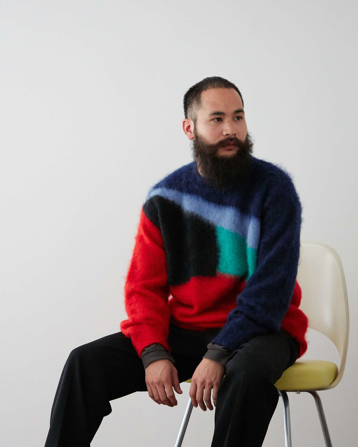 MOHAIR SWEATER 詳細画像 RED 5