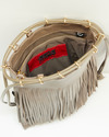LEATHER FRINGE POUCH 詳細画像