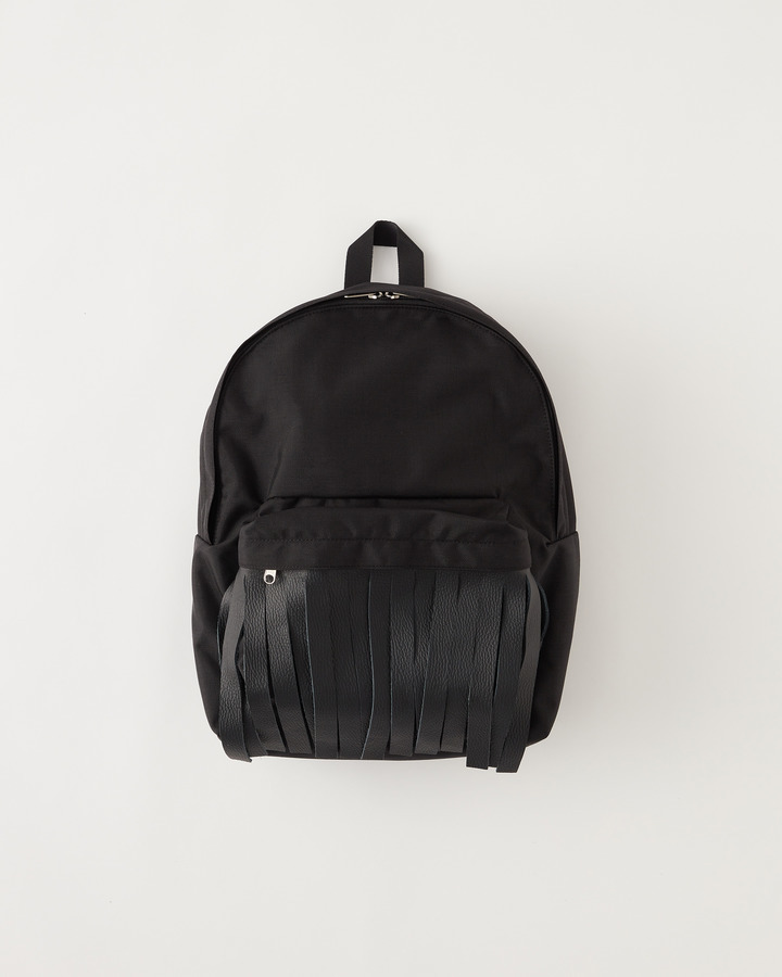 """FRINGE"" BACKPACK 詳細画像 BLACK 1"