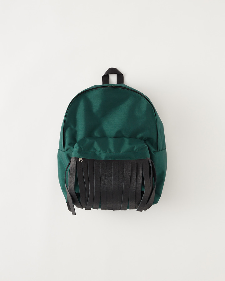 """FRINGE"" BACKPACK 詳細画像 GREEN 1"