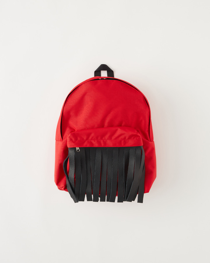 """FRINGE"" BACKPACK 詳細画像 RED 1"