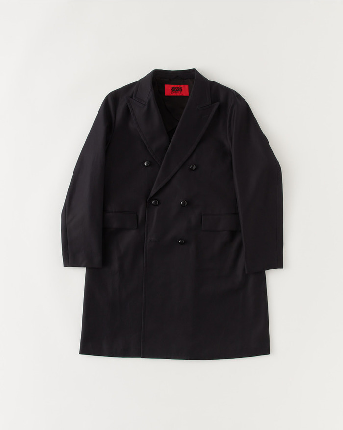DOUBLE CHESTER FIELD COAT