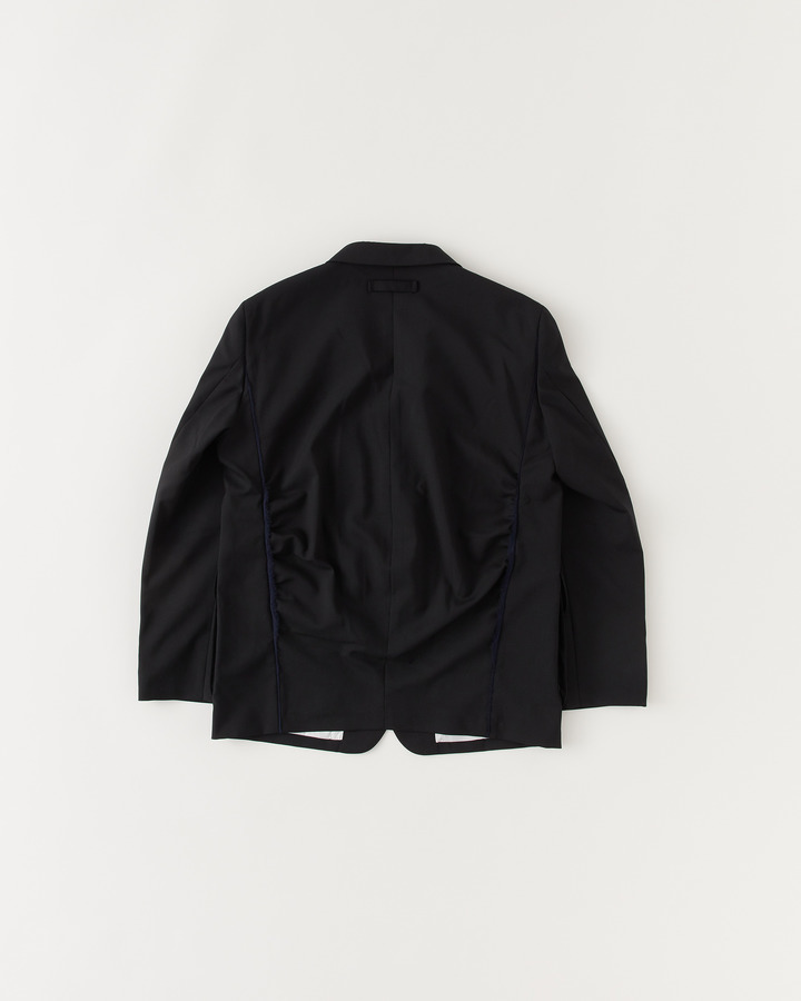 3 PATCH POCKET NOTCHED COLLAR JACKET 詳細画像 BLACK / NAVY 2