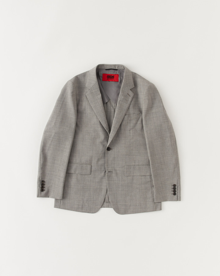 NOTCHED COLLAR JACKET 詳細画像 GRAY 1