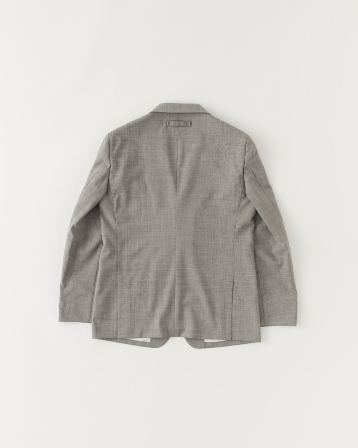 NOTCHED COLLAR JACKET 詳細画像 GRAY 2