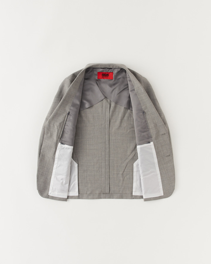 NOTCHED COLLAR JACKET 詳細画像 GRAY 3